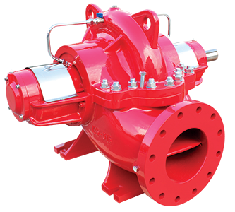 Horizantal Shaft Double Entry Split Case Fire Pumps FNDS