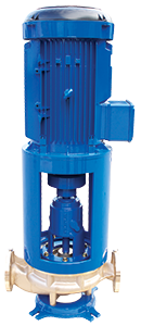In-Line Centrifugal Pumps, Mounted on Straight Pipe NLL-H